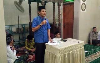 Elfauzi mengunjungi Mesjid Taqwa Padang Pasir Kecamatan Padang Barat