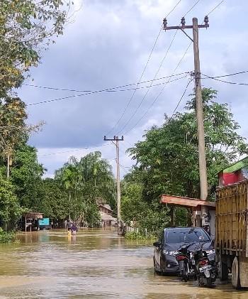 PLN Bergerak Cepat, Kampar Kiri Hulu Banjir