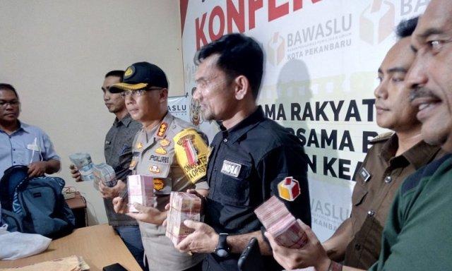 Bantah Calegnya Ditangkap Terlibat Politik Uang, Gerindra Riau: Uang itu Dana Saksi TPS