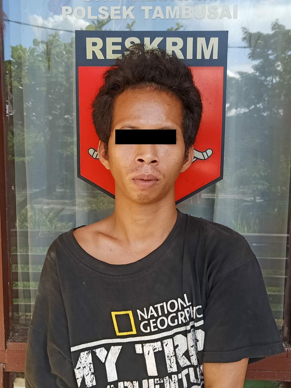 Na'as...Pencuri Kotak Infak di Tangkap Polisi