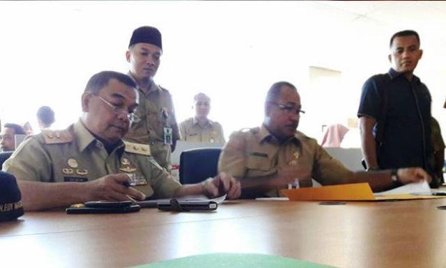 Wagubri Sidak Hari Perdana Puasa, Belasan ASN Dinas PU dan Perkim Riau Bolos Kerja