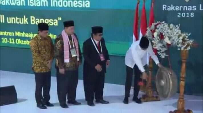 Presiden Indonesia Buka Rakernas LDII 2018, Jokowi: Keluarga Saya Banyak di LDII