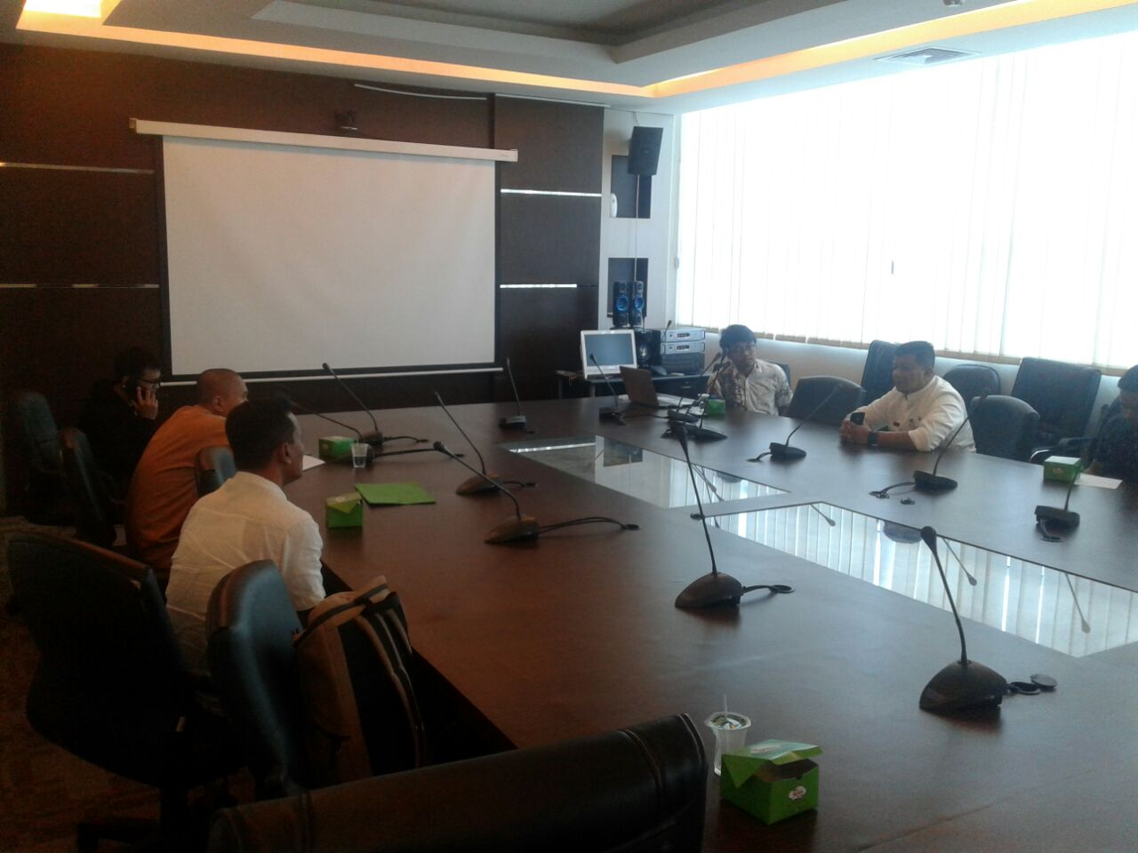 Tim BPSDA Kementerian PUPR Kunjungi Riau Lakukan Evaluasi Batas DAS