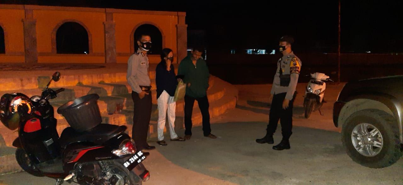 Cipta Kondisi agar Kondusif, Polres Sijunjung Menggelar Patroli Gula Pekat