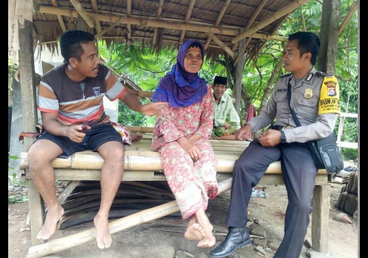 Dimotori Kabid Humas Polda Banten, Polres Cilegon Safari Subuh dan Kunjungi Warga