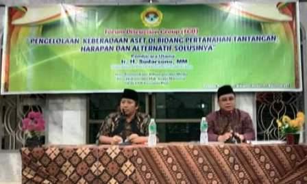 LDII Riau Gelar FGD, Hadirkan Dirjen Kementerian ATR/BPN