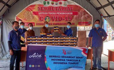 Aice dan Distributor Seluruh Indonesia Salurkan Jutaan Es Krim dan Masker untuk Masyarakat