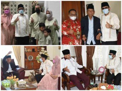 Silaturahim ke Wagub, Mantan Wako dan Wawako Padang, Hendri Septa: Mereka Guru dan Tempat Bertanya