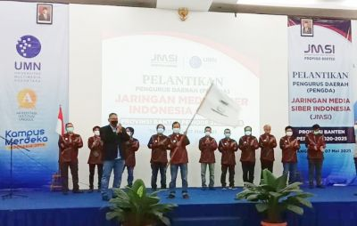 Dihadiri Ketua Komnas HAM, JMSI Banten Dikukuhkan Ketum Teguh Santosa