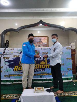 DPD I KNPI Riau Hadiri Penutupan Kegiatan Ramadhan FPRM Rumbai dan Rumbai Timur