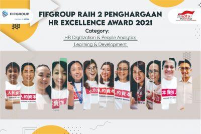 FIFGROUP Raih 2 Penghargaan Pada HR Excellence Award 2021