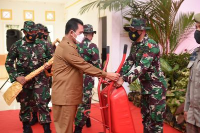 Gubernur Ansar Ahmad Apresiasi Pelaksanaan TMMD