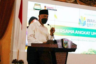 Gubernur Mahyeldi: UMKM Perlu Dukungan Kala Pandemi