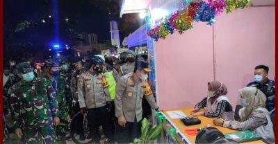 Kapolda Sumbar Cek Pos Pengamanan dan Pos Pelayanan Operasi Ketupat Singgalang 2021 di Kota Padang
