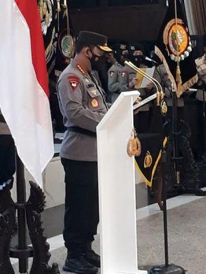 Kapolri Pimpin Kenaikan Pangkat 7 Pati Polri, Diantaranya Ada Kapolda Lampung