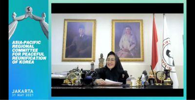 Kutip Dasasila Bandung, Rachmawati: Bangsa Korea Berhak Hidup Berdampingan Secara Damai
