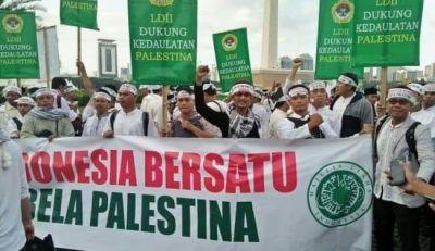 Kutuk Keras Tindakan Israel, LDII Beri Dukungan Perjuangan Rakyat Palestina