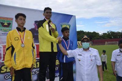 Padang Juara Umum POPDA Sumbar 2021, Wako Hendri Septa: Alhamdulillah Ini Prestasi Membanggakan