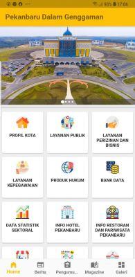 Pemko Luncurkan Aplikasi Pekanbaru Dalam Satu Genggaman