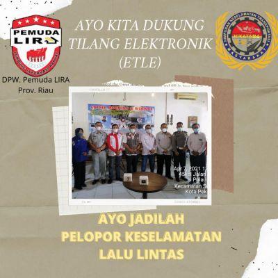 Pemuda LIRA Riau Sukses Gelar Webinar Sosialisasi Keselamatan Lalu Lintas Berbasis ETLE