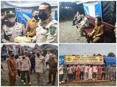 Penghujung Ramadhan Wagub Audy Joinaldy Buka Bersama Petugas Posko Arus Mudik