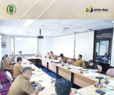 Sekretariat DPRD Riau Gelar Rapat Persiapan Peringatan HUT Riau Ke-64